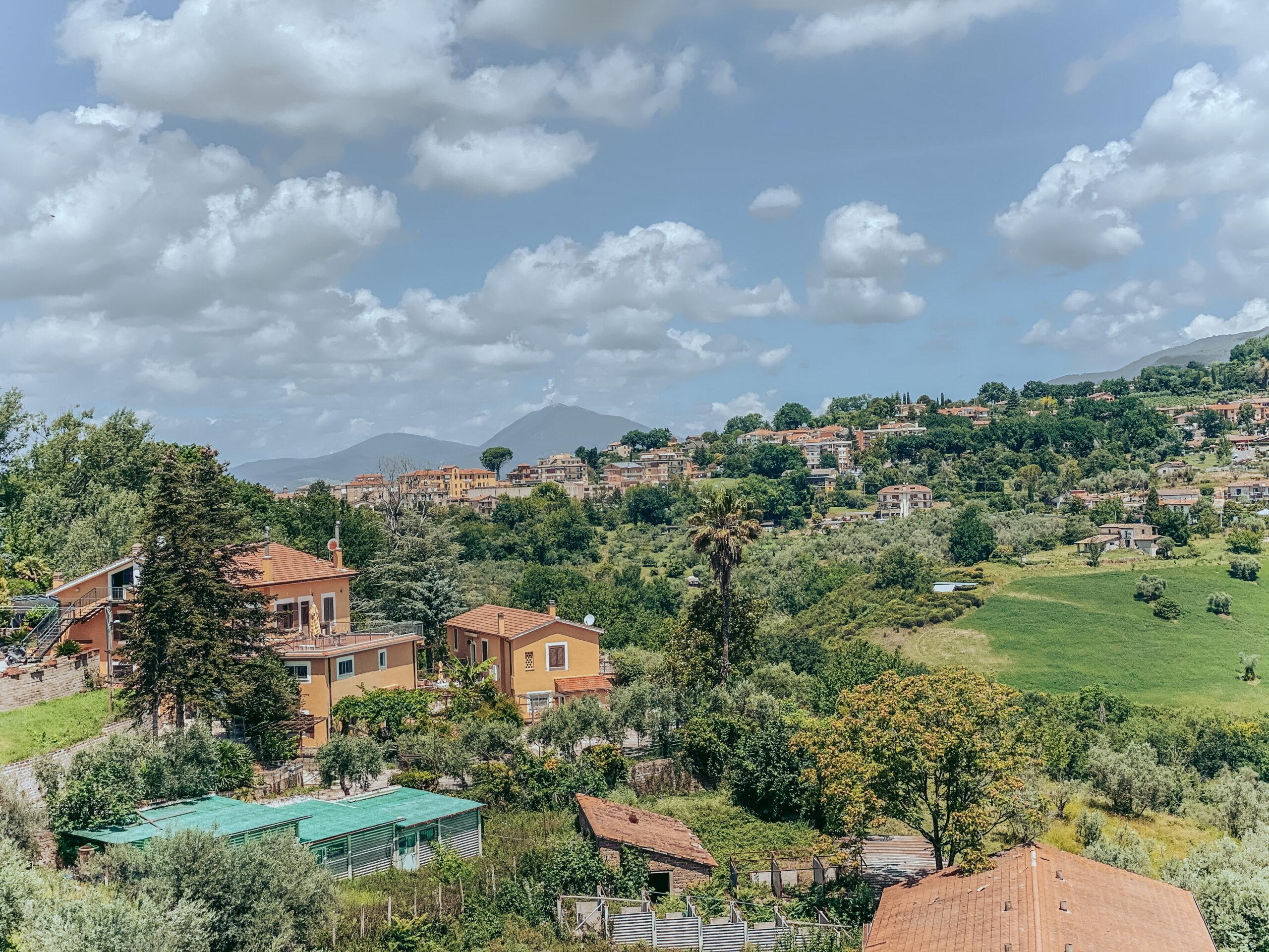 Tenuta con 10 ettari di terreno uliveti e vigneti in vendita in Sabina